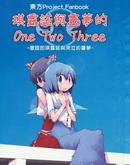 灵梦和琪露诺的One-Two-Three漫画